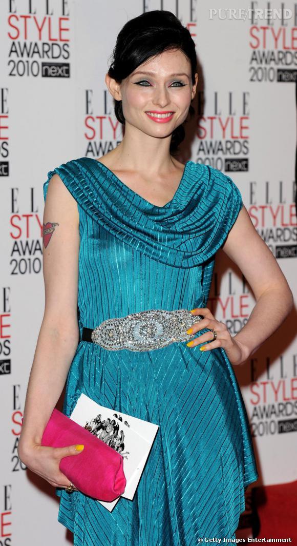 Sophie Ellis-Bextor lors des ELLE Style Awards, à Londres