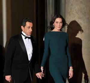 Carla Bruni Sarkozy, une émeraude à l'Elysée