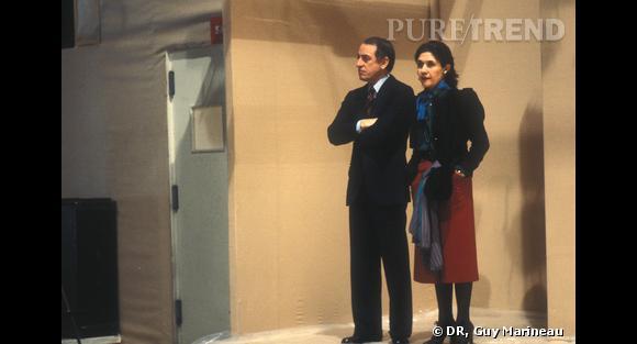 Pierre Bergé et Anne Marie Muñoz