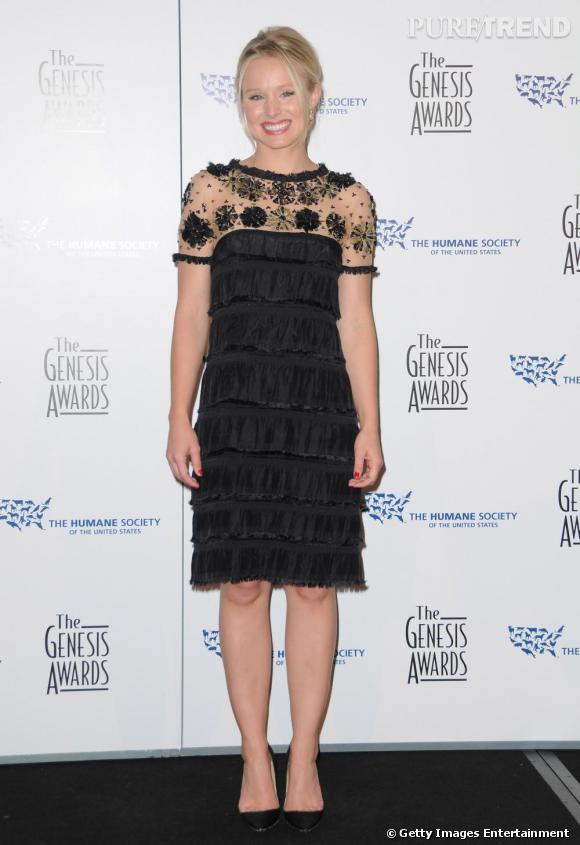 Kristen Bell lors des Genesis Awards