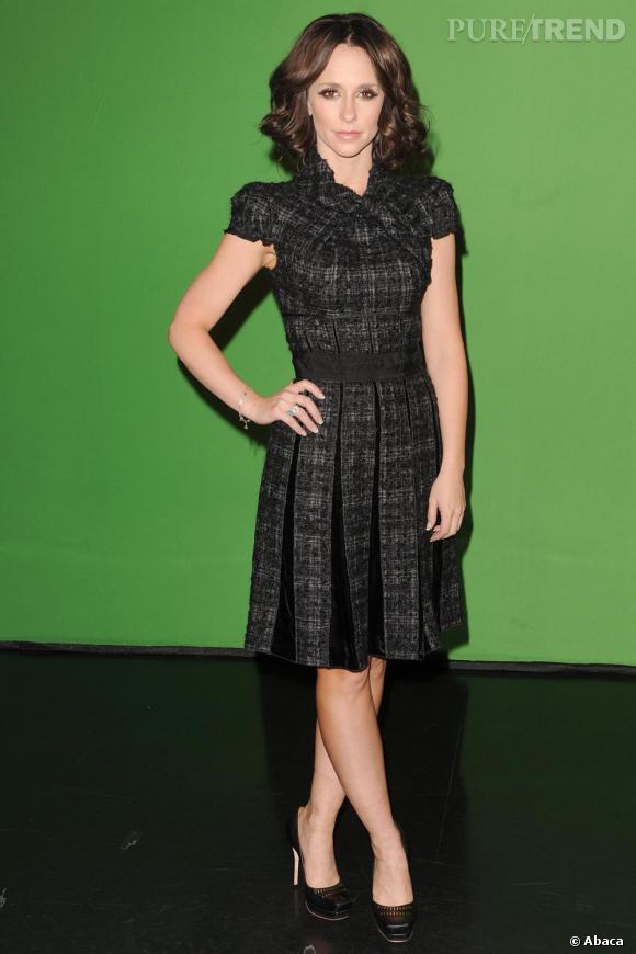 Jennifer Love Hewitt sur le plateau de l'émission Good Day New York