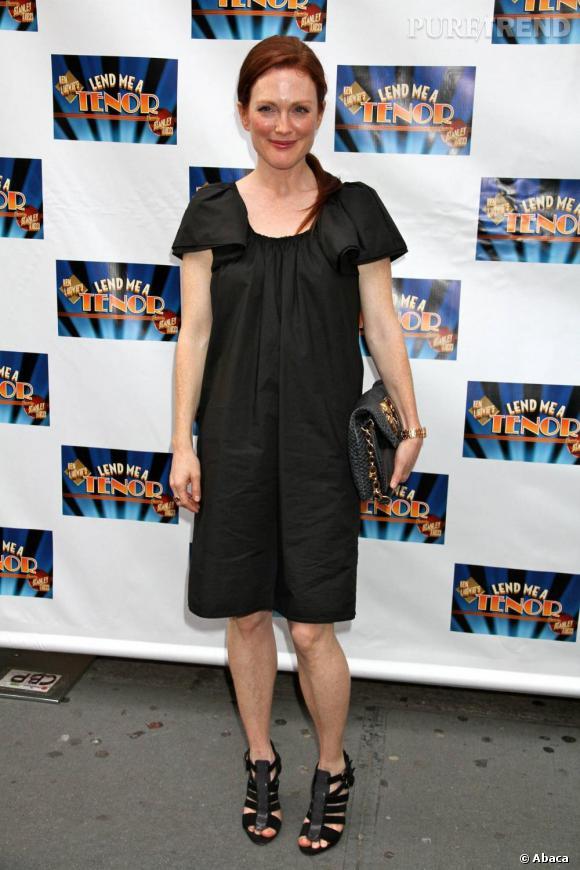 Julianne Moore très sobre à Broadway.