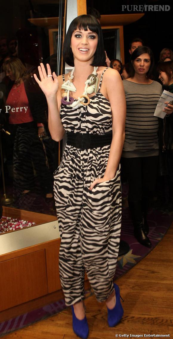 Les marques abordables : Katy n'hésite pas à porter, comme nous, des pièces de chez H&M
