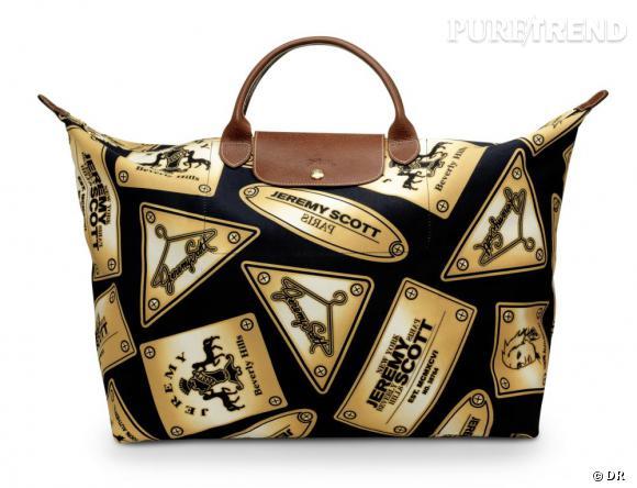 Le nouveau collector Jeremy Scott pour Longchamp Puretrend
