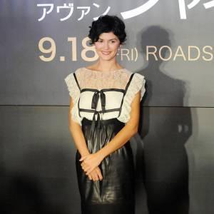 Audrey Tatou joue Chanel à l'écran et porte les créations de la griffe sur le red carpet