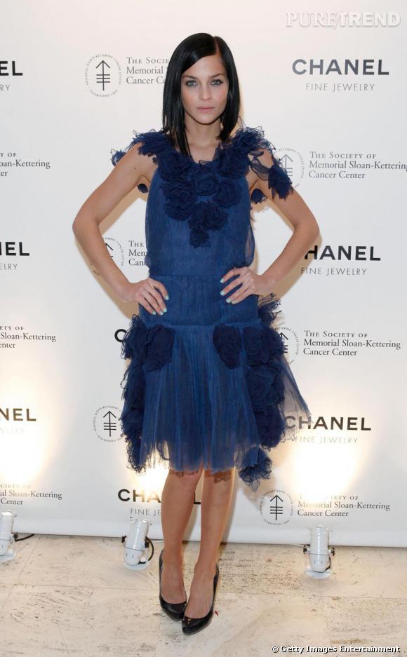 Leigh Lezark, oiseau de nuit en Chanel