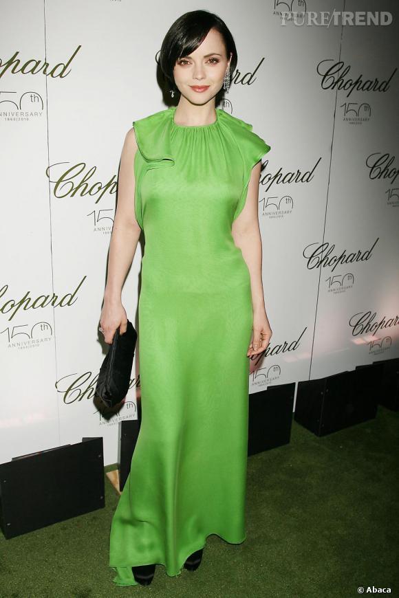 Christina Ricci lors du gala Chopard à New York