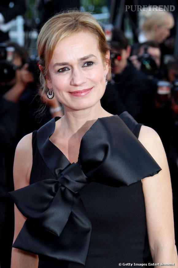 Sandrine Bonnaire à la première de On Tour à Cannes