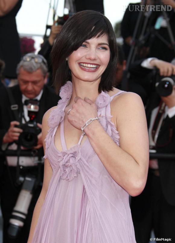Delphine Chanéac à la première du film Biutiful