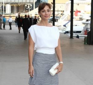 Cannes - Natalie Imbruglia, très chic matelot