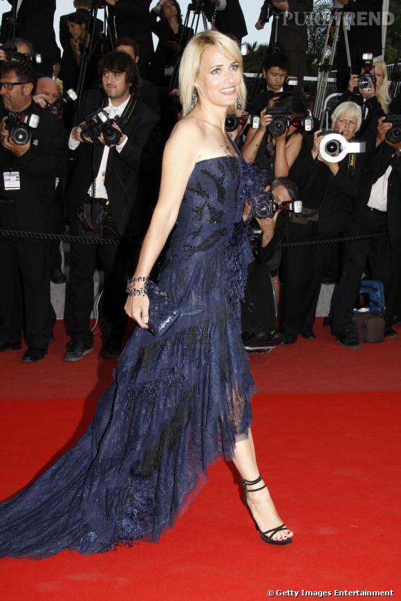 Judith Godrèche dans une robe Emilio Pucci