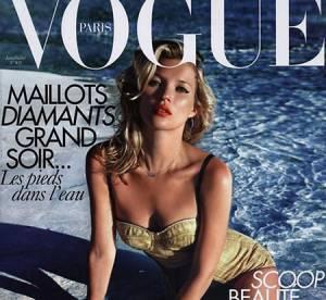 Kate Moss, plus que jamais en Vogue