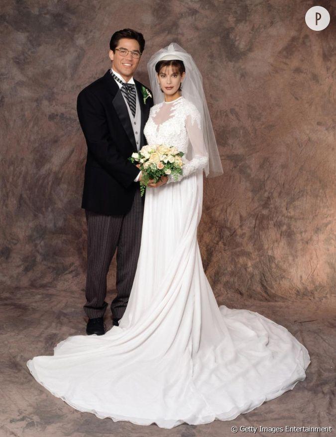 Teri hatcher nous offre une robe de mari e digne de la for Dallas de conservation de robe de mariage