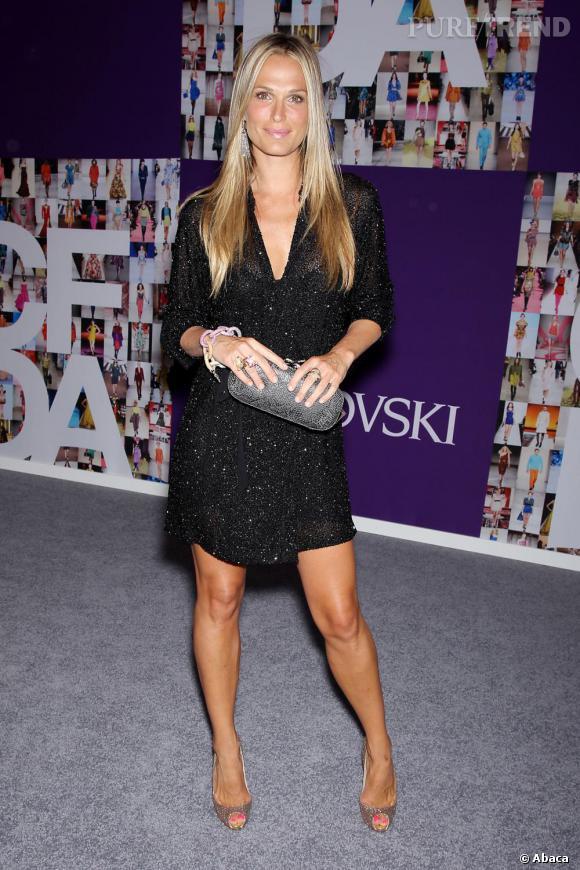 Molly Sims, un look sans prise de risque aux CFDA Fashion Awards
