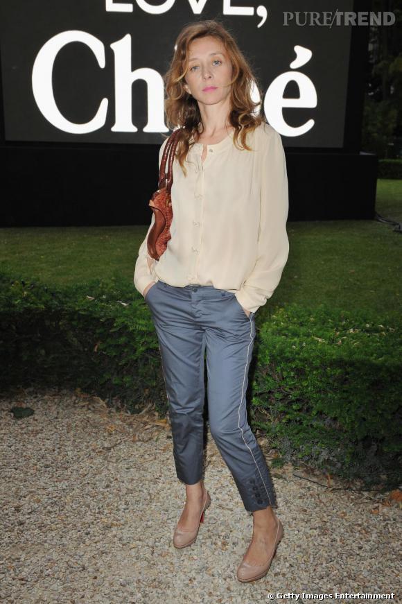 Sylvie Testud au lancement du nouveau parfum  Chloé  à Paris