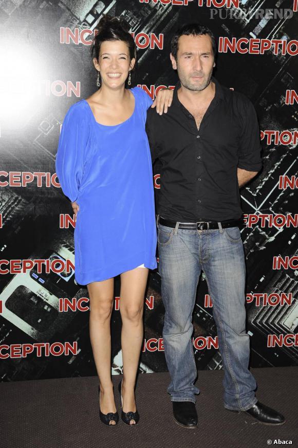 Mélanie Doutey aux côtés de Gilles Lelouch