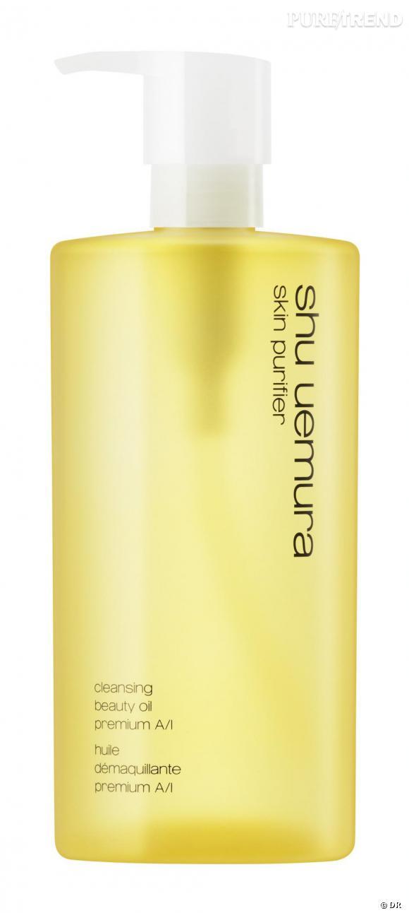 L'huile démaquillante premium A/l pour les peaux sensibles.