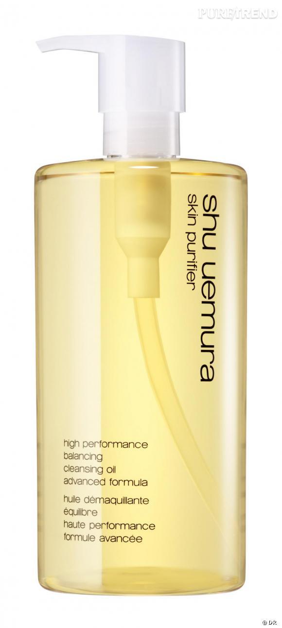 L'huile démaquillante formule avancée tous types de peau.