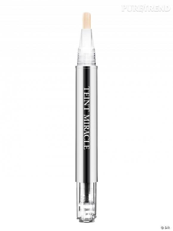 L'anti-cerne Teint Miracle de Lancôme...     L'allié des addicts du teint zero défaut    .      Stylo correcteur : Touche Teint Miracle, 30 €  Disponible en septembre 2010.