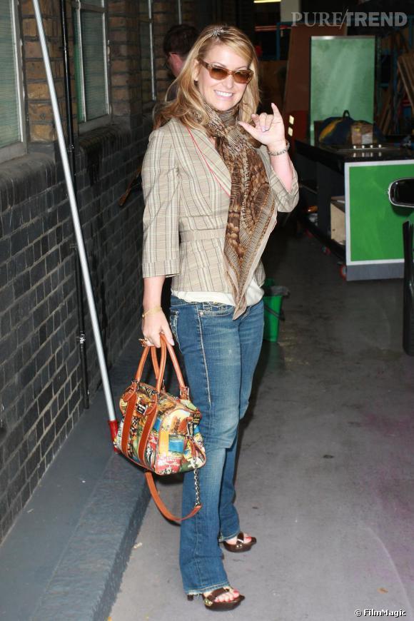 Anastacia s'offre un joli flop à Londres.