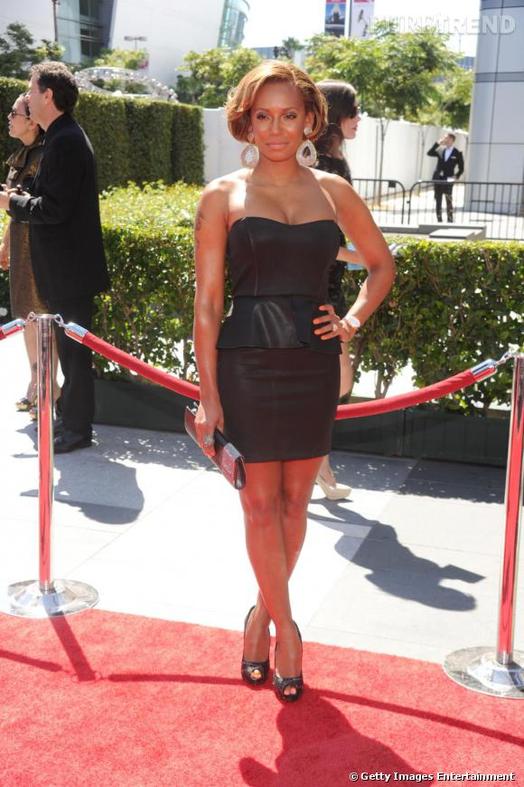 Melanie Brown aux 62ème Primetime Creative Arts Emmy Awards à Los Angeles.