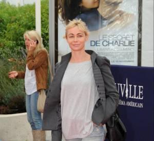 Emmanuelle Béart, simple et moderne