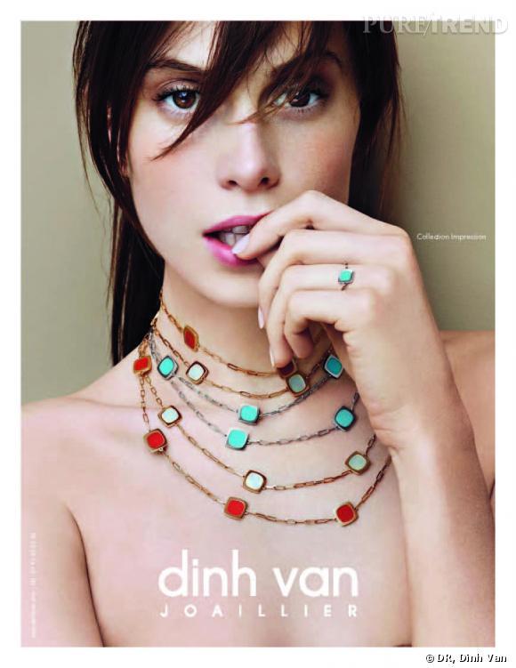 Campagne Automne-Hiver 2010 de Dinh Van.
