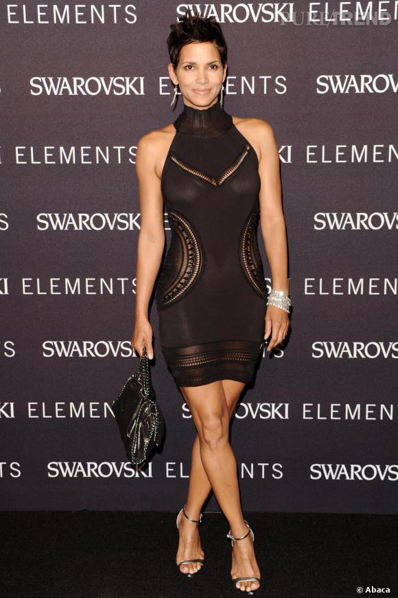 Halle Berry à la soirée caritative 22 Ways to Say Black à New York.