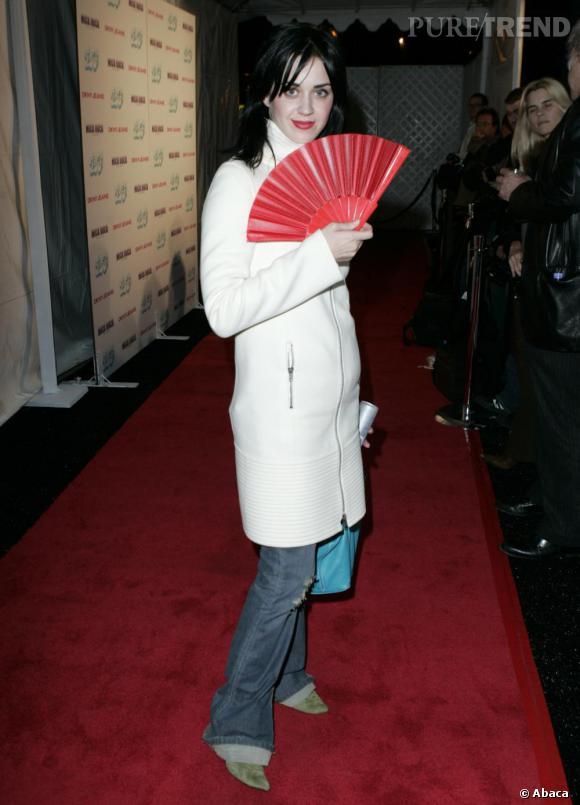 Le Flop Make-Up : Katy Perry semble vouloir essayer le maquillage japonais mais cela ne lui va pas du tout !