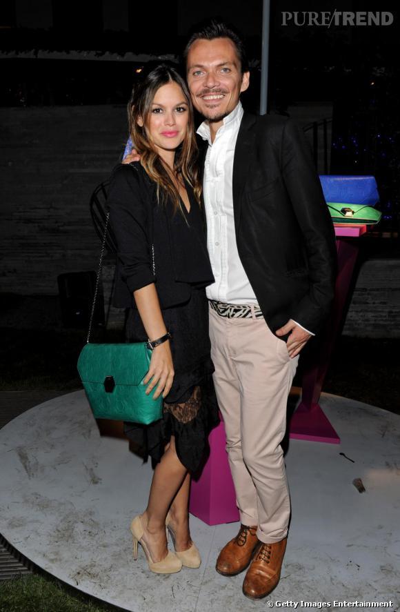 Rachel Bilson et Matthew Williamson à la soirée Bulgari présente Mattew Williamson.