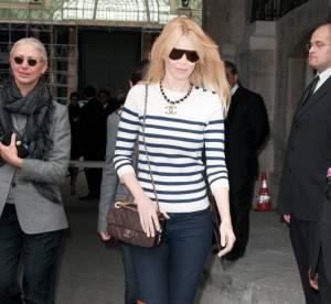Claudia Schiffer, son mélange de tendances... A shopper !