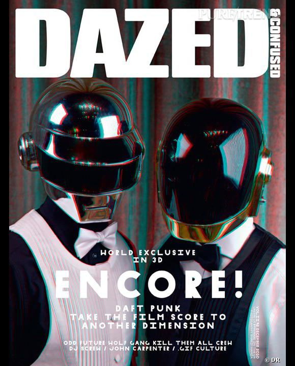 Dazed & Confused, numéro de décembre 2010 avec les Daft Punk.