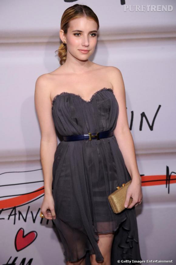 Chic et glamour, Emma Roberts entre dans la cour des grandes.