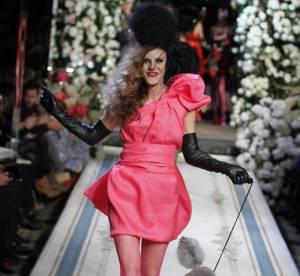 Lanvin pour H&M défile
