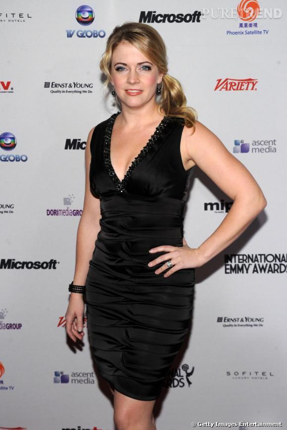 Melissa Joan Hart aux Emmy Awards à New York.