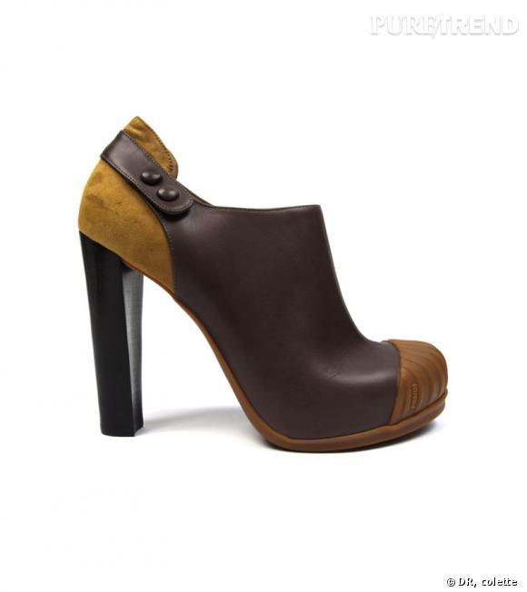 Boots Fendi, 655 € chez colette.fr.