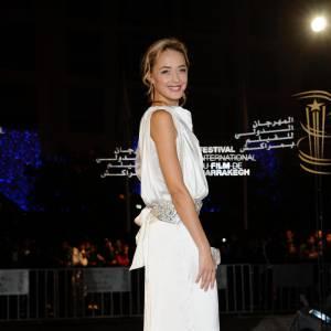 Hélène lors de la première de Neds à Marrakech.