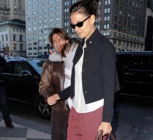 Katie Holmes : son look de citadine parfaite... A shopper !