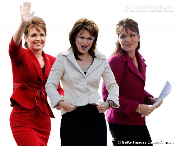 Son nom ? Sarah Palin. Le traumatisme américain pour nous, européens. Son job ? Gouverneure de l'Alaska et ancienne candidate à la vice-présidence américaine. Son look ? Tailleur-jupe ajusté, brushing gonflé et lunettes pour la note intello ou séduction, on ne sait pas.