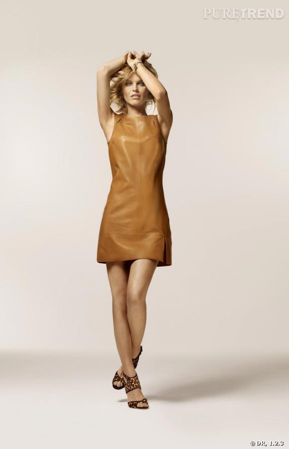 Collection Eva Herzigova pour 1.2.3, printemps-été 2011.