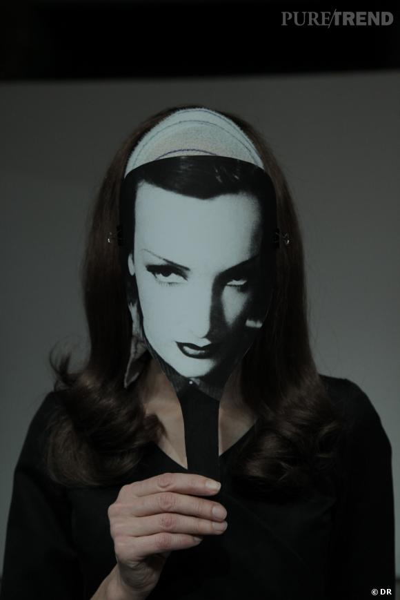 Le visage de Greta Garbo.  Ph : Katerina Jebb