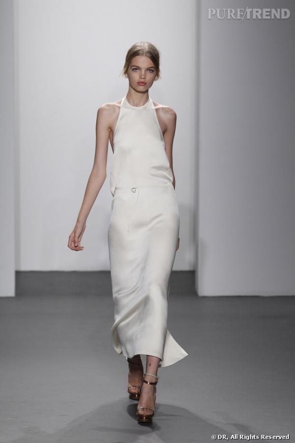 Défilé Calvin Klein, Printemps-Eté 2011.