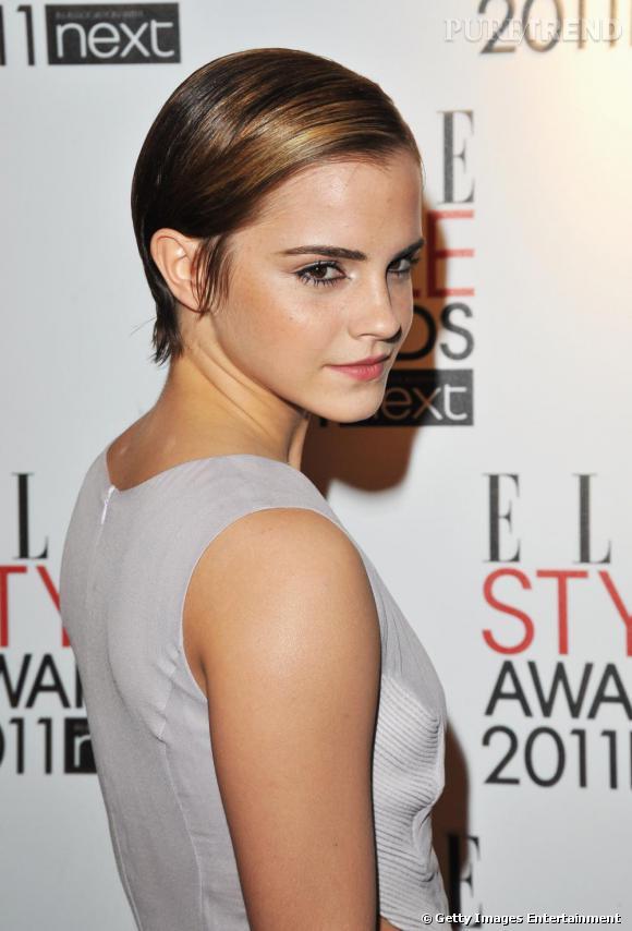 Emma Watson invitée aux ELLE Style Awards 2011.