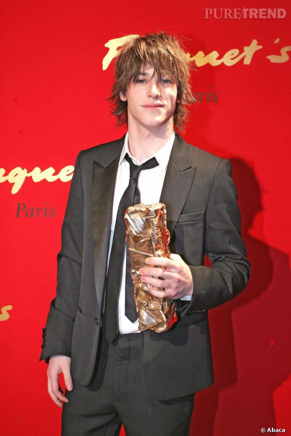 2005    Gaspard Ulliel et son César.