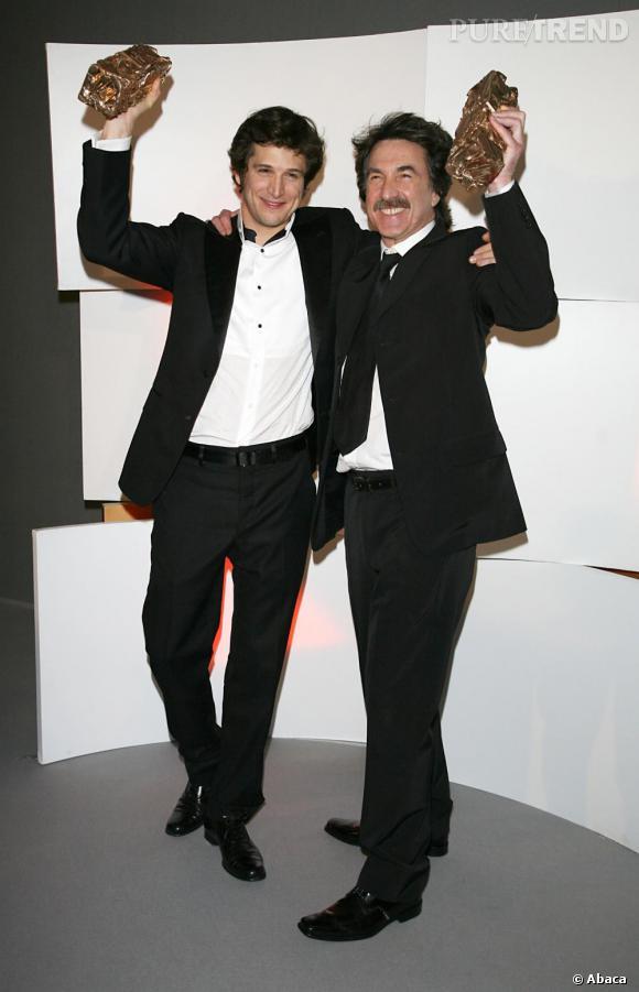 2007   Le succès se fête en duo pour Guillaume Canet et François Cluzet.