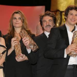 2007 Mélanie Laurent, Marina Hands, François Cluzert et Guillaume Canet ont chacun leur César.
