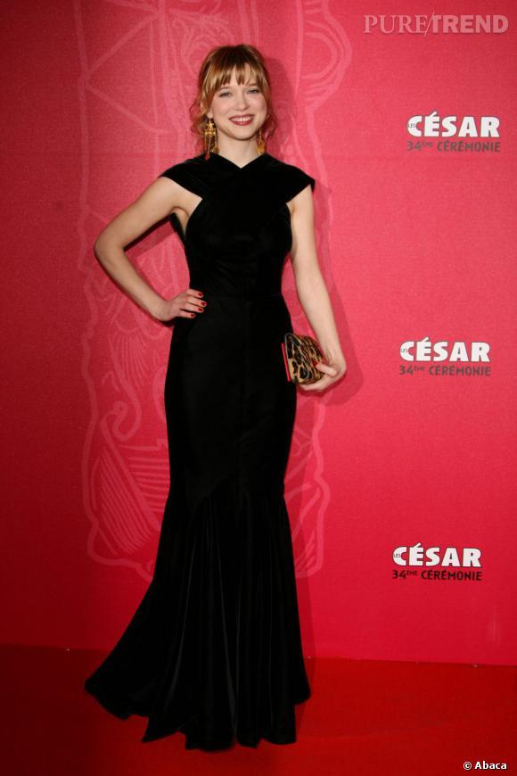 2009   Léa Seydoux, jeune première confirmée.