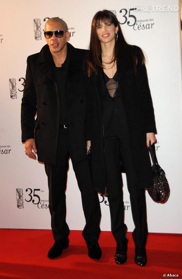2010    Le duo insolite Maïwenn et Joey Starr.
