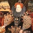 La Reine Elisabeth avait la peau blafarde et les cheveux rouges.