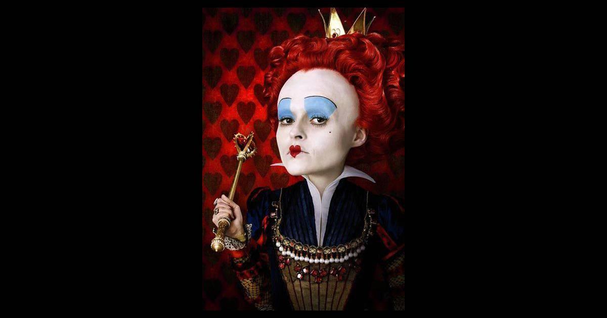 la reine de coeur a les cheveux rouges dans alice au pays des merveilles de tim burton puretrend. Black Bedroom Furniture Sets. Home Design Ideas